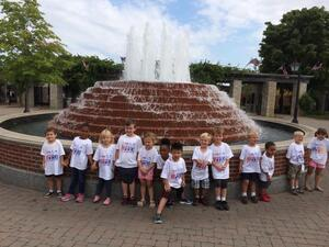 Detriot Zoo Field Trip with the preschool school summer campers