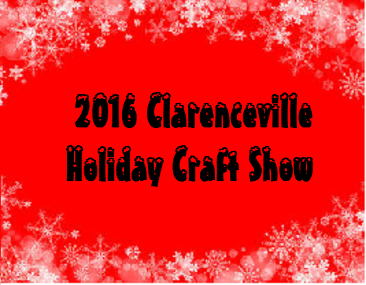 Craft Show clip art with link to fall holiday craft show flyer and vendor application form