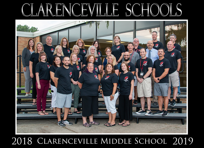 2018-19 CVMS Staff Photo