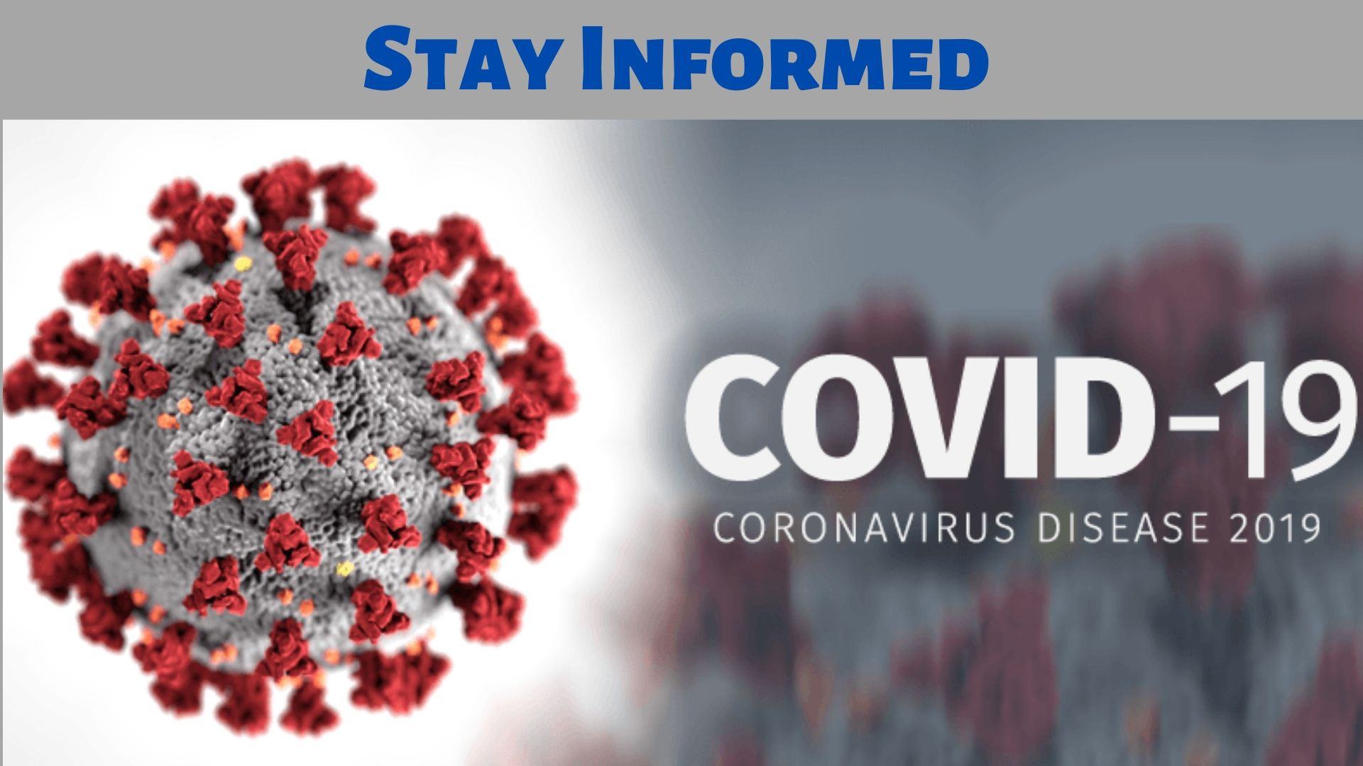 Stay Informed Covid-19