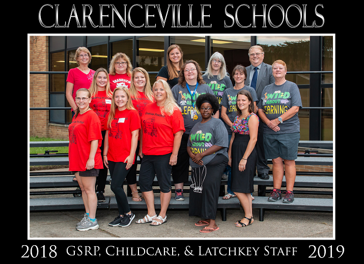 2018-19 GSRP Latchkey Staff Photo