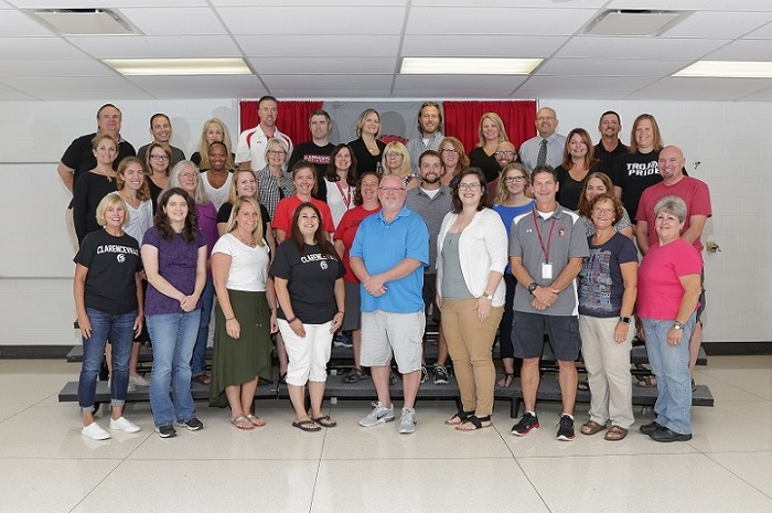 Middle School Staff Picture